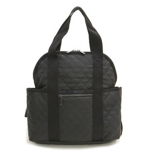 [LeSportsac]リュック DOUBLE TROUBLE BACKPACK / ブラック