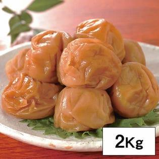 【2kg】減塩3%健康志向の紀州南高梅つぶれ梅 はちみつ