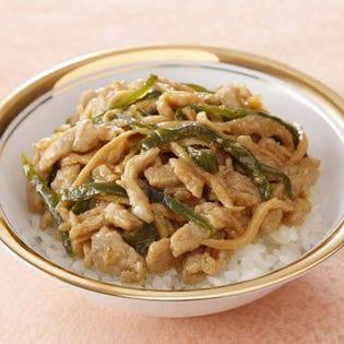 【4食】四川飯店 青椒肉絲丼(チンジャオロース丼)