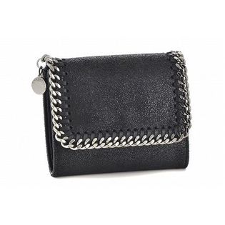 【STELLA McCARTNEY】ファラベラ/SMALL FLAP【BLACK】