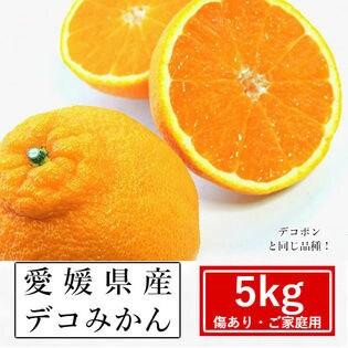 【予約受付】2/20~順次出荷【約5kg】愛媛県産 デコみかん(ご家庭用・傷あり)
