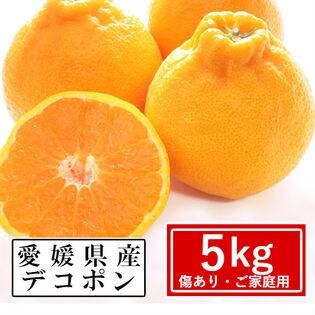 【予約受付】2/20~順次出荷【約5kg】愛媛県産 デコポン(ご家庭用・傷あり)