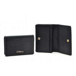 【FURLA】カードケース/BABYLON S BUSINESS CARD CASE【ONYX】