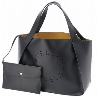 【STELLA McCARTNEY】ステラロゴ/TOTE【BLACK】