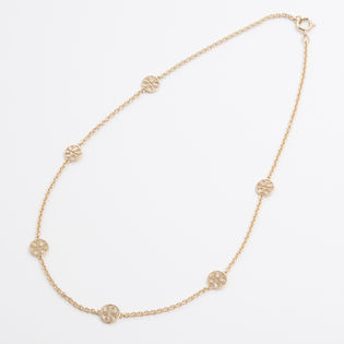 [TORY BURCH]DELICATE LOGO NECKLASE ネックレス