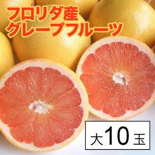【約3.5kg(約350g×10)】フロリダ産グレープフルーツ大10玉