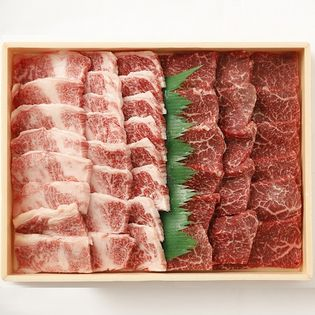【700g】牧場直送!! 九州産黒毛和牛 焼肉セット