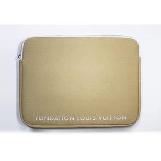 キャメル【FONDATION LOUIS VUITTON】美術館 限定 PCケース