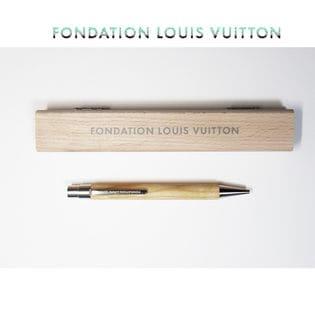 【FONDATION LOUIS VUITTON】美術館 限定 ボールペン #Wooden Pen