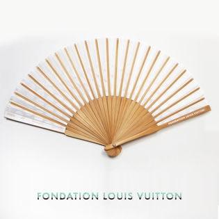 【FONDATION LOUIS VUITTON】美術館 限定 扇子 #Folding fan