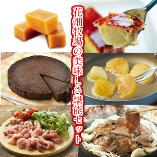 【6点セット】花畑牧場の美味しさ堪能セット(スイーツ・チーズ・ホエー豚を堪能できます♪)
