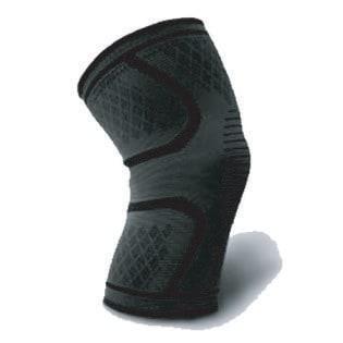 【ブラック・M】2枚セット 膝サポーター ひざ サポーター 両足入り スポーツ 3D 通気性 吸汗性