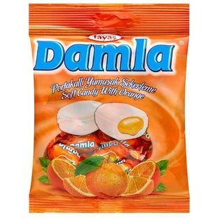 【4袋】ダムラ  オレンジソフトキャンディ 90g(約19粒入)