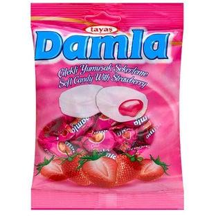 【4袋】ダムラ  ストロベリーソフトキャンディ 90g(約19粒入)