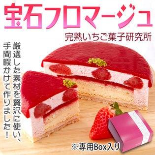 【1個/4号(12cm)】宝石フロマージュ 完熟いちご菓子研究所