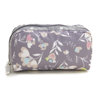 グレー[LeSportsac]ポーチ RECTANGULAR COSMETIC