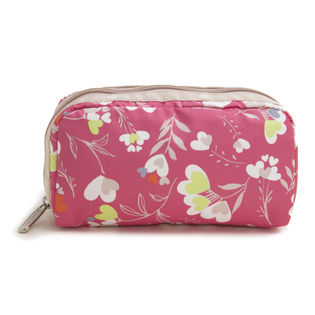 ピンク[LeSportsac]ポーチ RECTANGULAR COSMETIC