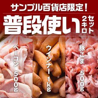 【計2kg】サンプル百貨店限定!!普段使い2kgセット