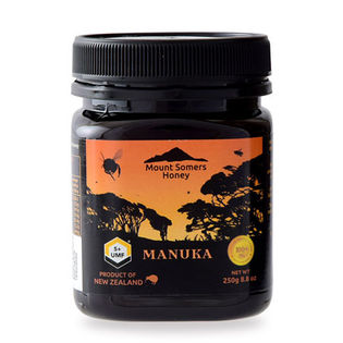 【250g】ニュージーランド産マヌカハニー(蜂蜜)マヌカ認定協会UMF5+
