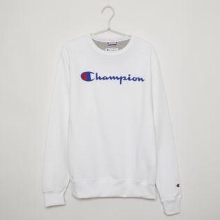 Mサイズ [Champion] メンズ トレーナー ホワイト POWERBLEND GRAPHIC