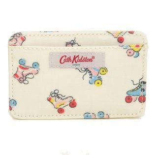 オフホワイト[CathKidston]パスケース CARD HOLDER CC