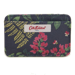 ネイビー[CathKidston]パスケース CARD HOLDER CC