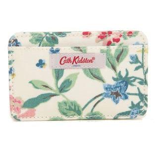 クリーム[CathKidston]パスケース CARD HOLDER CC