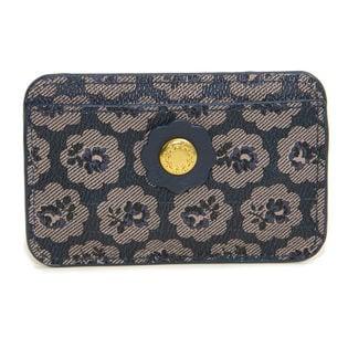 ネイビー[CathKidston]パスケース CARD HOLDER PVC
