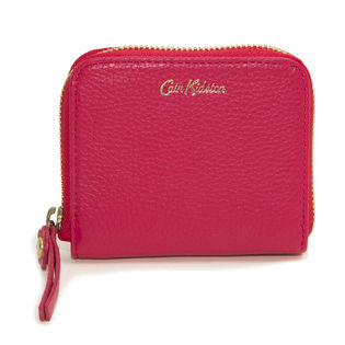 [CathKidston]折り財布 レッド MINI CONTINENTAL WALLET