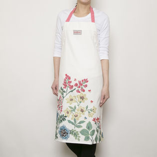 [CathKidston]エプロン クリーム EASY ADJUST APRON