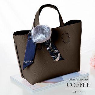 【コーヒー】3wayショルダーハンドバッグ【vl-5137】ONESIZE