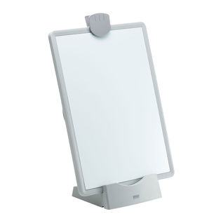 データホルダー(ブックスタンド・ホワイトボード・VESA対応・ホワイト) サンワサプライ