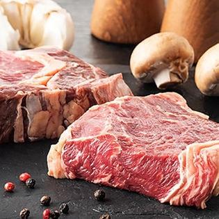 【計1.8kg(200g×9)】ウルグアイ産ロースステーキ(牛脂付)