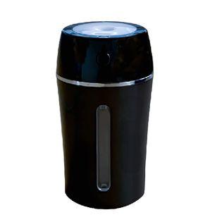 【ブラック】KEIYO 超音波式 加湿器 USBタイプ 車用加湿器 アロマオイル対応