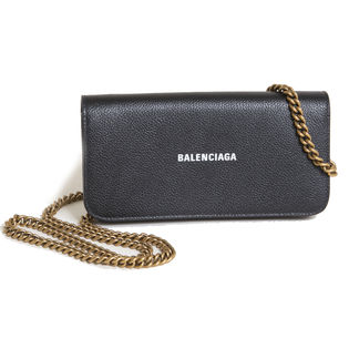{BALENCIAGA]長財布  CASH WALLET ON CHAIN