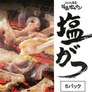 【215g×5パック】ブランド豚 麓山高原豚 使用の ご当地 ホルモン 【福島ホルモン】塩がつ