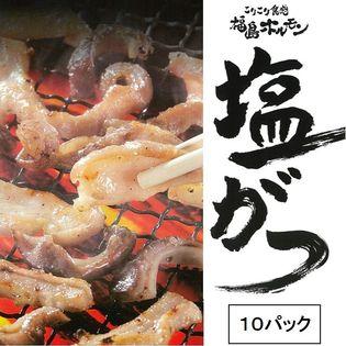 【215g×10パック】ブランド豚 麓山高原豚 使用の ご当地 ホルモン 【福島ホルモン】塩がつ