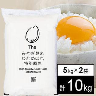 【10kg(5kg×2袋)】 特別栽培米 令和元年産 宮城県産ひとめぼれ JAみやぎ登米 白米