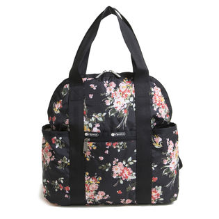 [LeSportsac]リュック ブラック DOUBLE TROUBLE BACKPACK