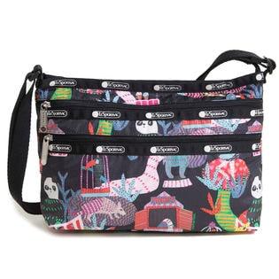 [LeSportsac]ショルダーバッグ ブラック×マルチ QUINN BAG