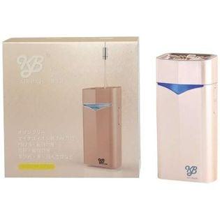 【日本製】超小型マイナスイオン発生器 KB AIR MASK(エアマスク)シャンパンゴールド