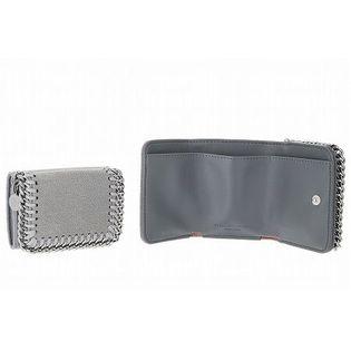 【STELLA MAcCARTNEY】3つ折りミニ財布/FALABELLA【LT GREY】