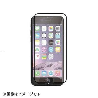 【ブラック】 iPhone 6Plus /  6sPlus ガラスフィルム 画面 液晶 保護
