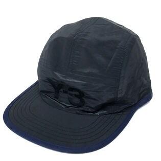 [adidas Y-3]キャップ REVERSIBLE CAP ブラック×ネイビー