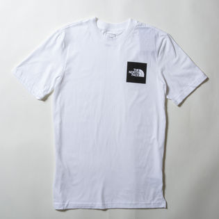【XLサイズ/ホワイト×ブラック】[THE NORTH FACE]M S/S NEW BOX TEE