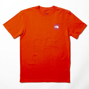 【Mサイズ/レッド】[THE NORTH FACE]M S/S RED BOX TEE