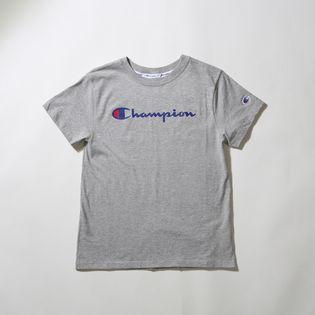 【Mサイズ 】[Champion]レディース CLASSIC TEE グレー