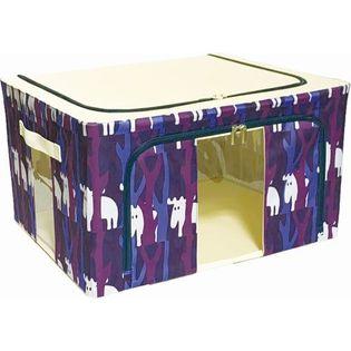 【フォレスト2個セット】moz 窓付き収納ボックス
