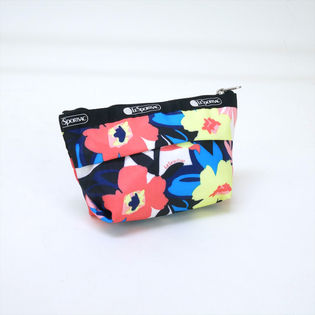 [LeSportsac]ポーチ SMALL SLOAN COSMETIC 花柄