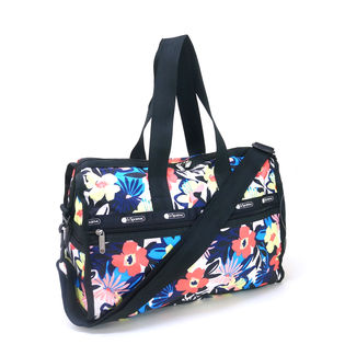[LeSportsac]ボストンバッグ DELUXE MED WEEKENDER 花柄